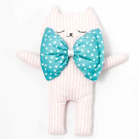 Kim the cat cuddle soft toy